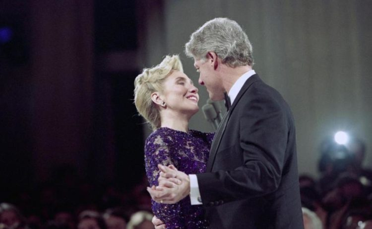 Билл Клинтон и его жена