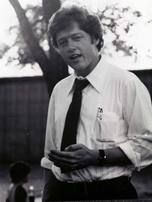 Будущий президент США в молодости